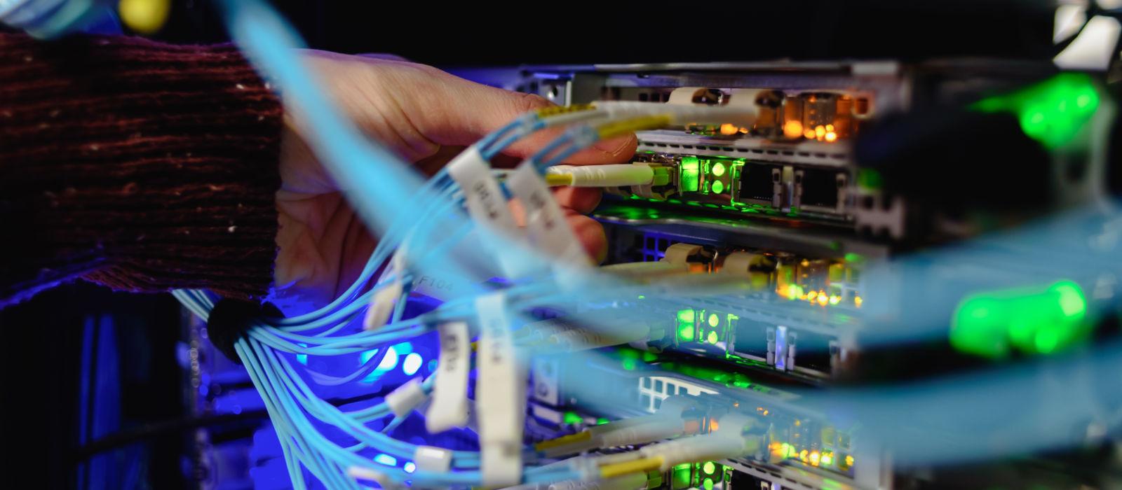IT Beheer glasvezel switches